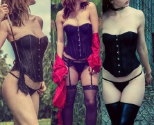 One Corset, Three Looks