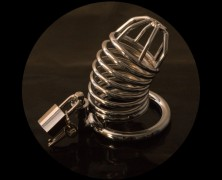Spotlight: Chrome Chastity Cock Cage
