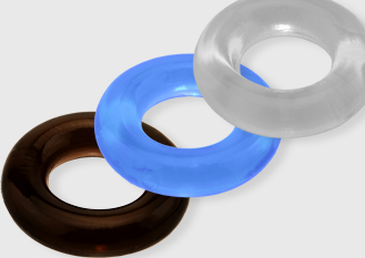 Silicone & Rubber Cock Rings