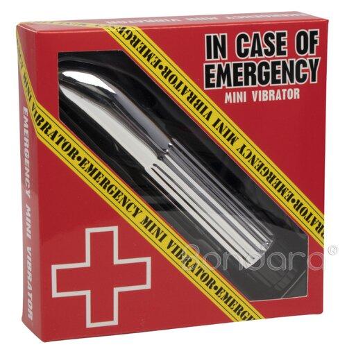 Emergency Mini Vibrator | Classic | Silver | 4-Inch
