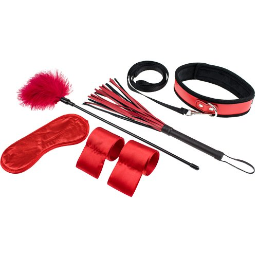Introduction to Bondage Red Adventurous Set