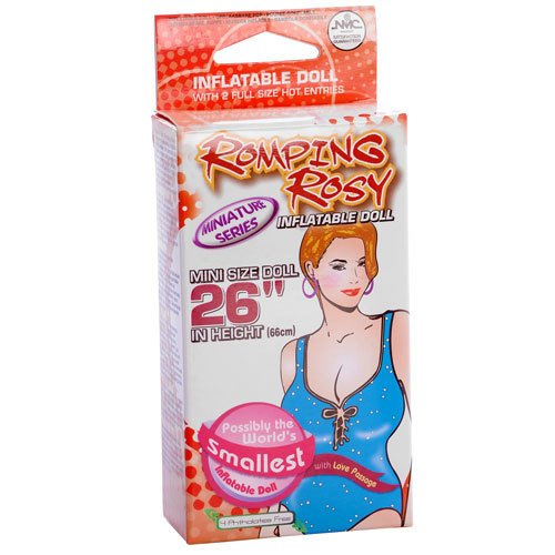 Romping Rosy Blow Up Mini Sex Doll - Bondara