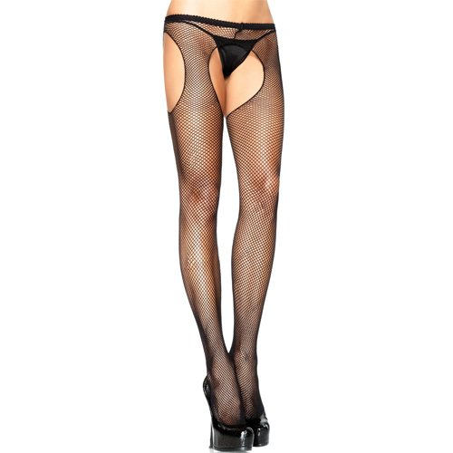 Leg Avenue Fishnet Suspender Tights