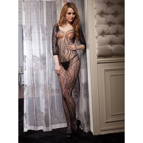 Tiger Temptress Crotchless Bodystocking