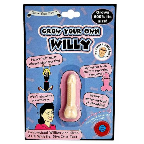 Grow Your Own Willy