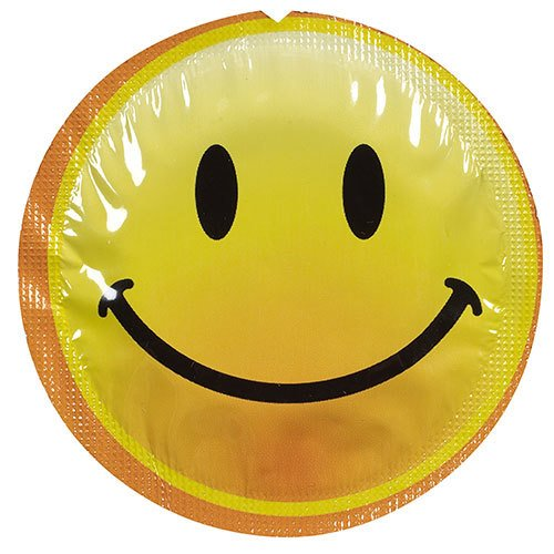 EXS Smiley Faces Condoms - Loose - Bondara