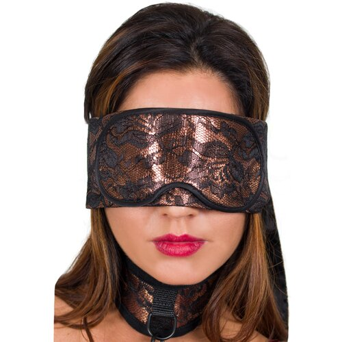 Obsessed Amber Tie Up Blindfold - Bondara