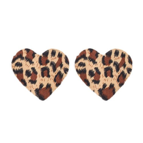 Bondara Animal Print Heart Pasties