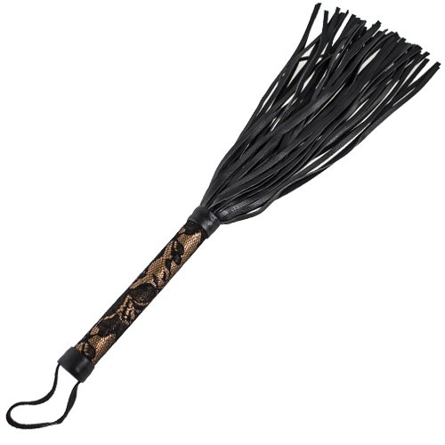 Obsessed Amber Luxury Flogger – 15 Inch