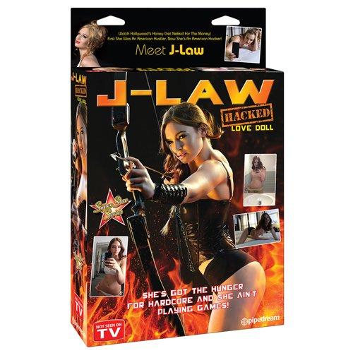J-Law Hacked Blow Up Love Doll - Bondara