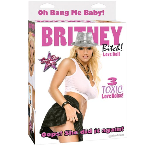 Britney Bitch Blow Up Love Doll