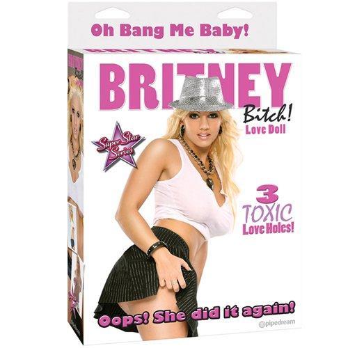 Britney Bitch Blow Up Love Doll - Bondara