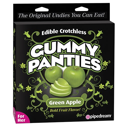 Edible Apple Flavoured Gummy Panties