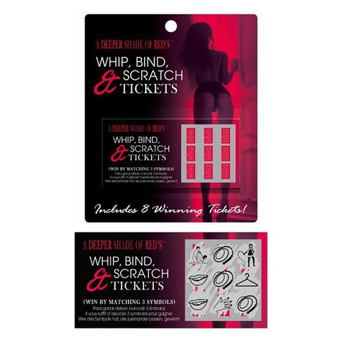 Whip, Bind and Scratch Cards