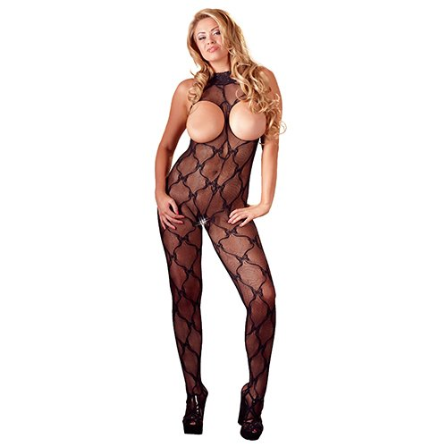 05640dc5aa Mandy Mystery Plus Size Halterneck Cupless Crotchless Bodystocking ...