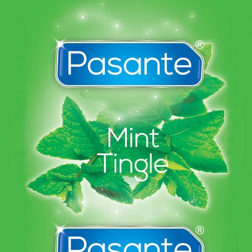 Pasante Mint Tingle Condom - Loose
