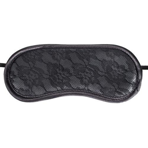 Bondara Dark Intimacy Black Lace Blindfold