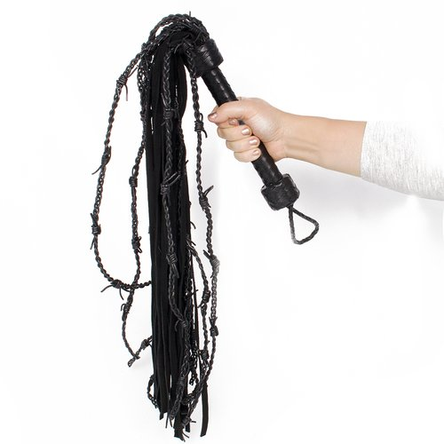Bondara Dead Horse Leather Barbed Tail Flogger