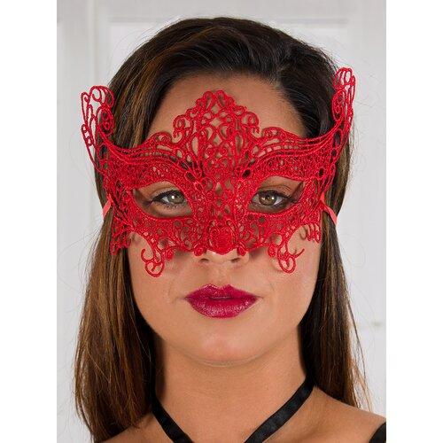 Bondara Flirt Red Lace Eye Mask