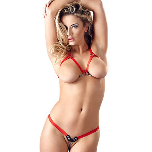 Bad Kitty Harness Underwear Set - Bondara
