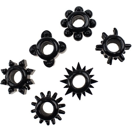 Ultimate Cock Ring Set of 6