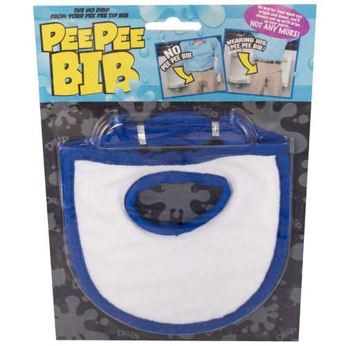 No More Drips Pee Pee Bib