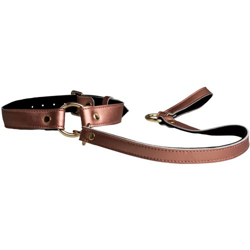 Tie Me Up Rose Gold Collar and Leash