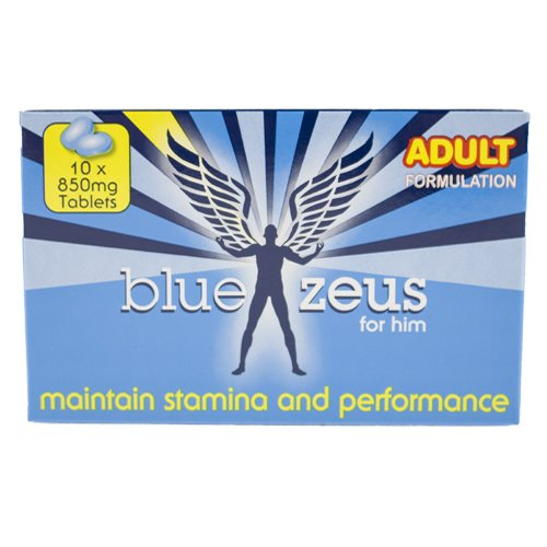 Blue Zeus Sexual Performance Pills – 10 Pack