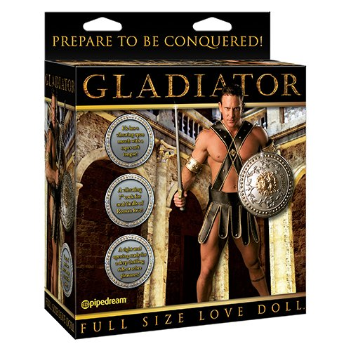 Pipedream Gladiator Vibrating Blow Up Sex Doll