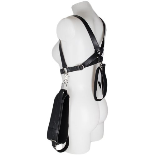 Bondara Faux Leather Thigh and Wrist Restraint