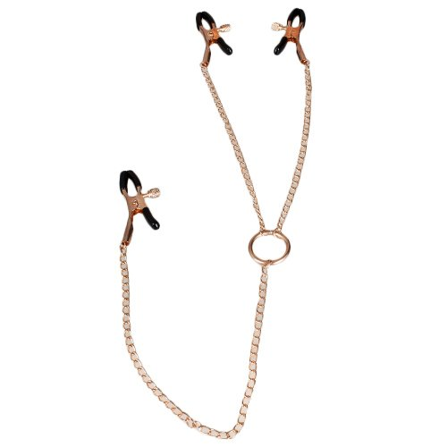 Bondara Rose Gold O-Ring Nipple and Clit Clamps