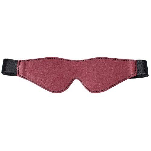 Bondara Red Faux Leather Blindfold