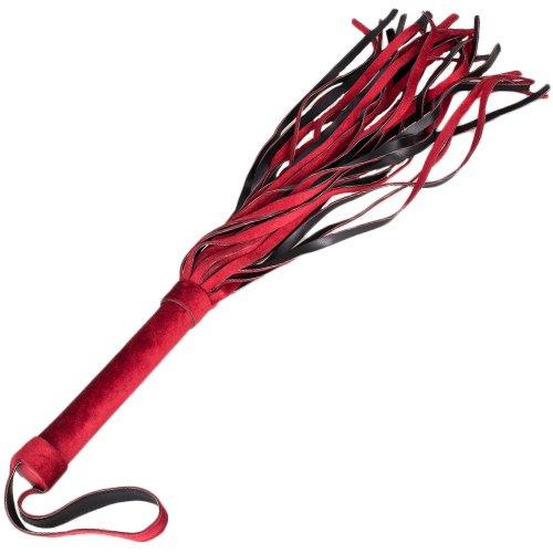 Bondara Red Velvet Flogger