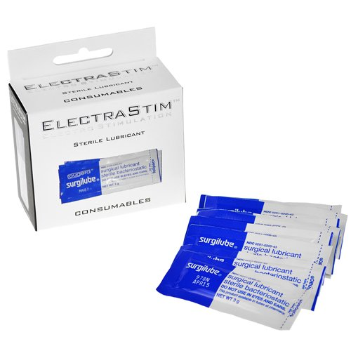 Electrastim Sterile Lubricant Sachets - Pack of 10