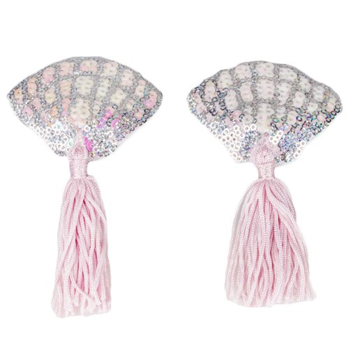 Mermaid Shell Sequin Nipple Tassels