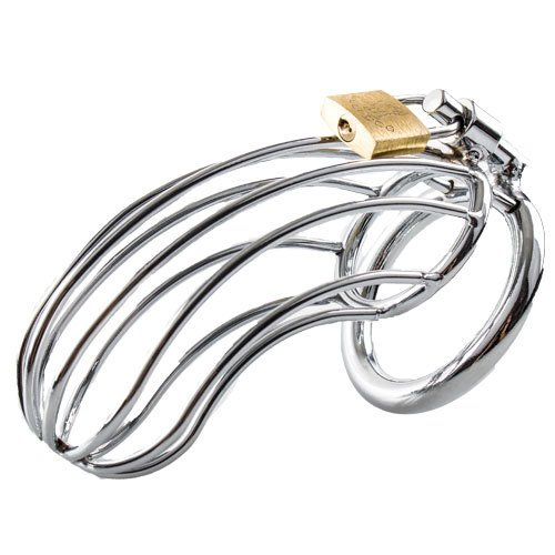 Bondara Stainless Steel Birdcage Chastity Cage
