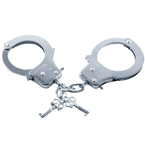 Bondara Silver Heavy Duty Handcuffs