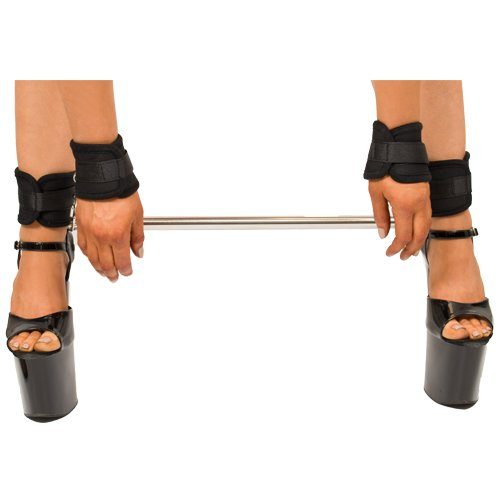 Dare Spreader Bar With Soft Velcro Wrist and Ankle Cuffs