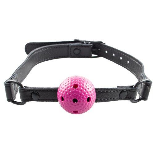 Bondara Pink Small Vented Ball Gag