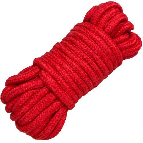 Bondara Red Cotton Bondage Rope - 10m