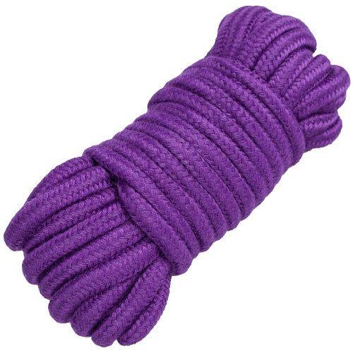 Bondara Purple Cotton Bondage Rope - 10m