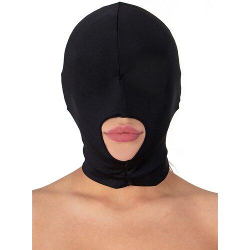 Bondara Black Bondage Hood with Mouth Hole - Bondara