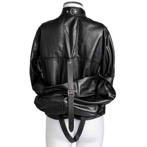 Bondara Faux Leather Straitjacket