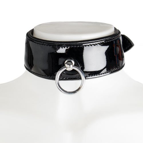 Obey Patent Leather O-Ring Collar
