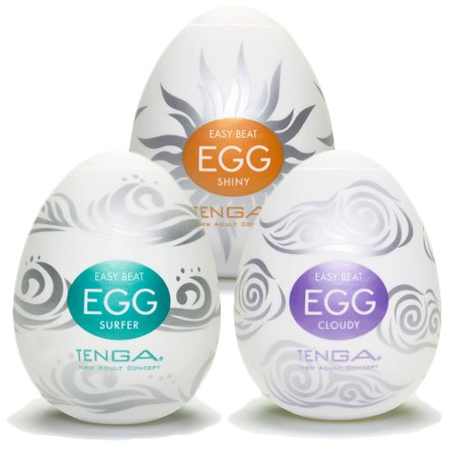 Tenga Egg Male Masturbator- Summer Collection - Bondara