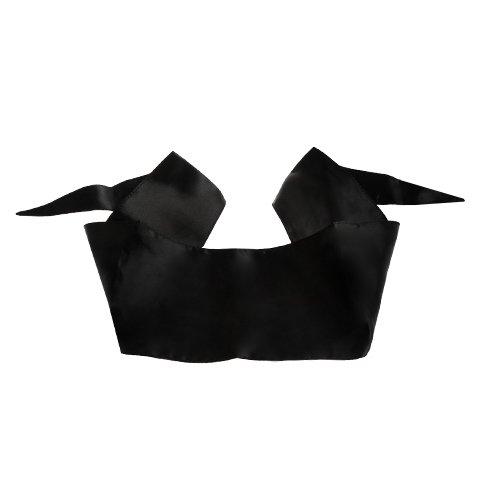 Bondara Black Tie Blindfold Scarf - Bondara