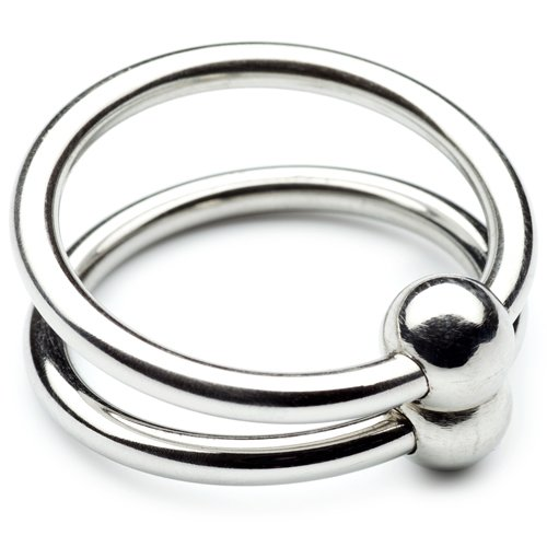 Double Glans Ring With Duo Ball
