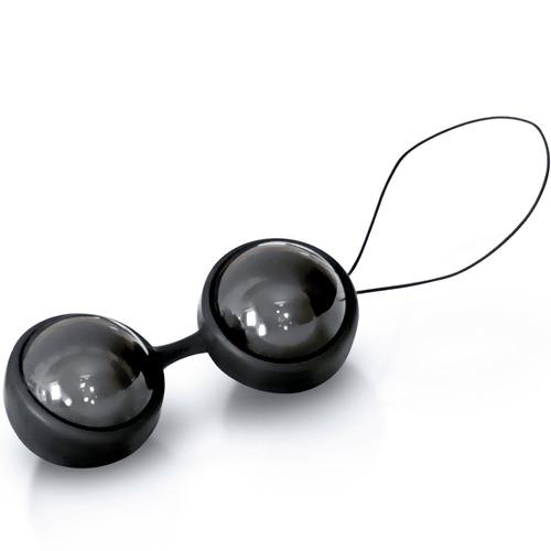 LELO Luna Beads Noir Kegel Exercisers - Bondara