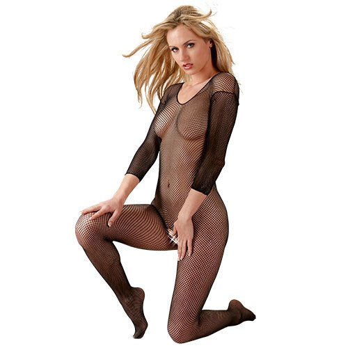 e9a0ee175c Mandy Mystery Plus Size Crotchless Bodystocking Bondara