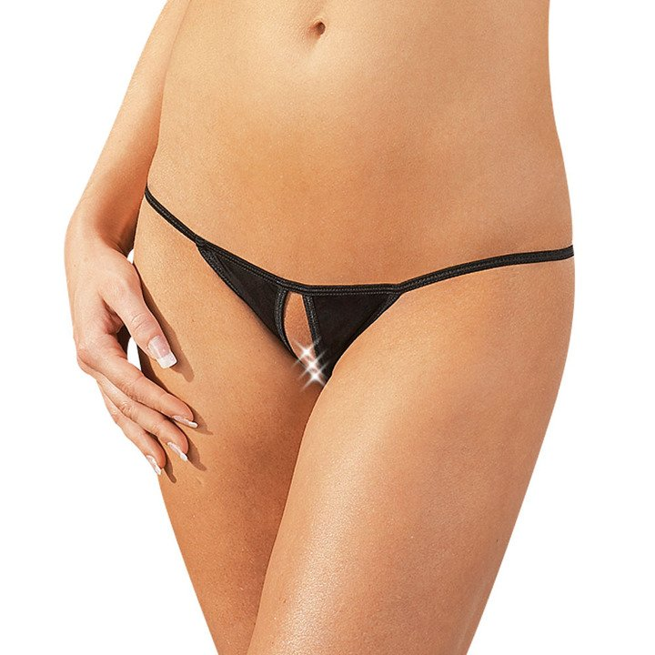 Mandy Mystery Crotchless G-String